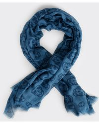 Zadig & Voltaire Scarf Kerry Skull Outline - Lyst