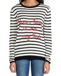 Banjo & Matilda - Your Kiss Sweater in Black - Lyst