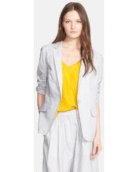 Rag & Bone 'Chatham' Stripe Silk & Cotton Blazer - Lyst