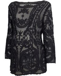 H&M Mama Lace Top - Lyst