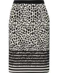 Preen Cloquã Pencil Skirt - Lyst
