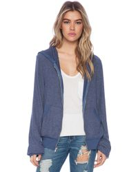 Wildfox Shopping Is My Cardio Hoodie - Lyst