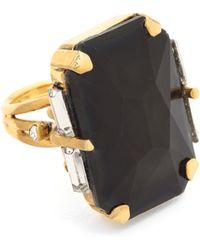 Erickson Beamon - Cocktail Ring - Emerald - Lyst