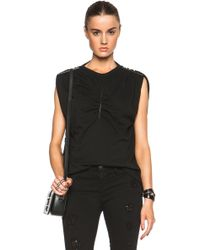 Christopher Kane Front & Shoulder Plate Vest - Lyst