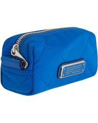 Marc By Marc Jacobs - Small Blue Crosby Quilted Cosmetic Bag - Lyst