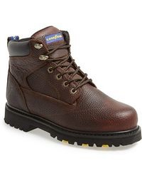 Goodyear 'daytona Sw' Leather Boot - Brown