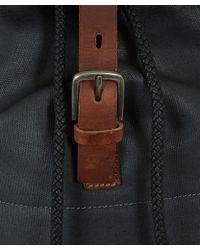 Ally Capellino - Black Kelvin Canvas Backpack - Lyst