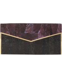 J. Mendel Mother-Of-Pearl & Shell Evening Minaudière - Lyst