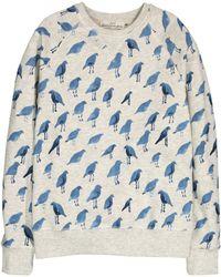 H&M   Patterned Sweatshirt   Lyst