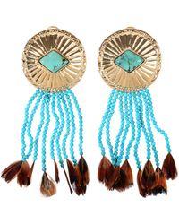 Aurelie Bidermann Earrings multicolor - Lyst