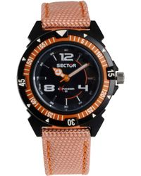 Sector Wrist Watch - Red