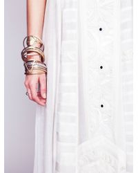 Free People Womens Kristin'S Limited Edition White Story Dress - Lyst