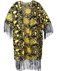 Alice + Olivia Onella Embroidered Kimono - Lyst