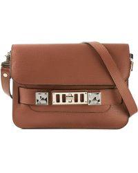 Proenza Schouler PS11 Small Calf-Leather Shoulder Bag - Lyst