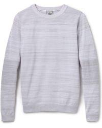 S.N.S Herning Gray Initiator Sweater - Lyst