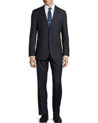 Hugo Boss Paolini Tonal Striped Suit - Lyst