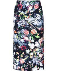 McQ by Alexander McQueen 34 Length Skirt - Lyst