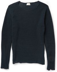 Paul Smith Knitted-Cotton Sweater - Lyst