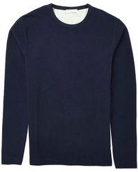 Selected Ripley Crew Neck Sweatshirt - Lyst