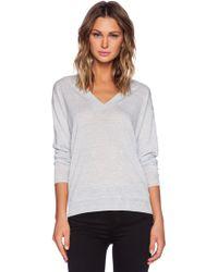 Theory Trulinda Eternal Sweater - Lyst