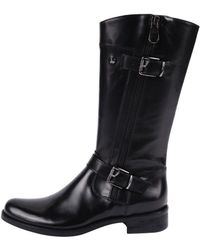Momenti | Silver Accented Boot | Lyst