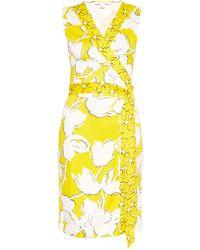 Diane von Furstenberg New Yahzi Short Dress - Lyst