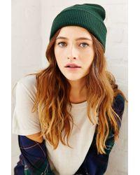 BDG - Cuffed Rib-knit Beanie - Lyst