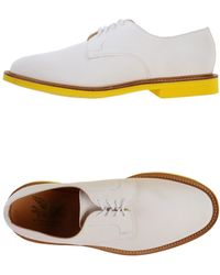 Mark McNairy New Amsterdam Lace-up Shoes - White