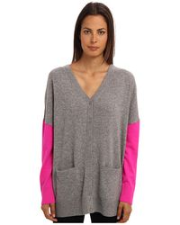 Kate Spade Oversize Wool Cardigan - Lyst
