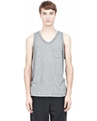 Alexander Wang Classic Tank With Pocket - Lyst