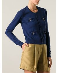 DSquared2 Pocket Cardigan - Lyst
