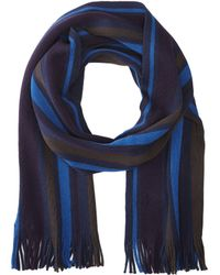 Ted Baker Thick Stripe Raschel Scarf - Lyst