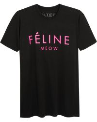 Brian Lichtenberg - Féline Cotton Tshirt - Lyst
