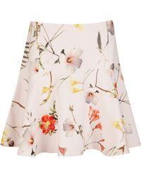 Ted Baker Ginene Botanical Bloom Skirt - Lyst