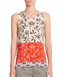 Etro Stencil Orchid Knit Shell multicolor - Lyst