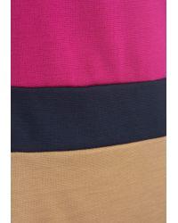 Monteau Inc Colorblock On By Dress - Multicolor