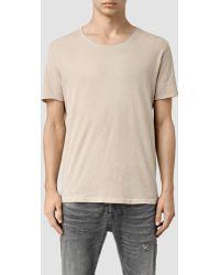AllSaints | Warn Crew T-shirt | Lyst