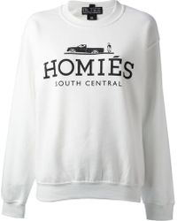 Brian Lichtenberg Homiés Sweater - White