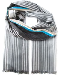 Paul Smith Striped Scarf - Lyst