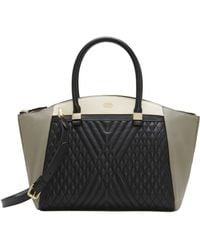 Vince Camuto   Darcy Leather Satchel   Lyst