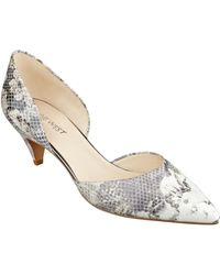 Nine West Chaching Leather Pumps - Lyst