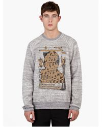 Marc Jacobs | X Bäst Grey Cotton Printed Sweatshirt | Lyst
