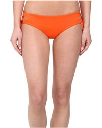 Seafolly Goddess Lace Up Hipster - Lyst