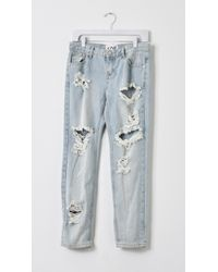 One Teaspoon Awesome Baggies Jeans blue - Lyst
