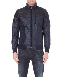 G-star Raw Garber Quilted Shell Jacket - Lyst
