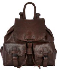 Barneys New York Flapfront Backpack - Lyst