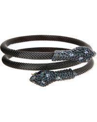 Alexis Bittar - Elements Crystal Serpent Wrap Bangle - Lyst