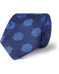 Turnbull & Asser Embroidered Silk Tie - Lyst