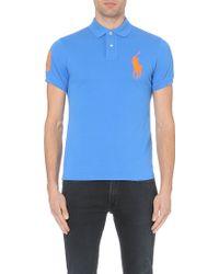 Ralph Lauren Slim-Fit Stretch-Cotton Polo Shirt - For Men - Lyst