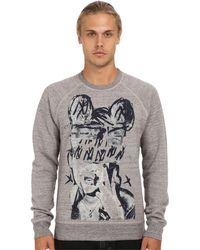 Marc Jacobs Graphic Print Sweatshirt gray - Lyst